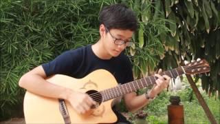 อ้าว - Atom [Fingerstyle Guitar Cover] | Kawin
