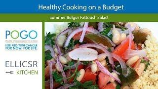Bulgur Fattoush Salad