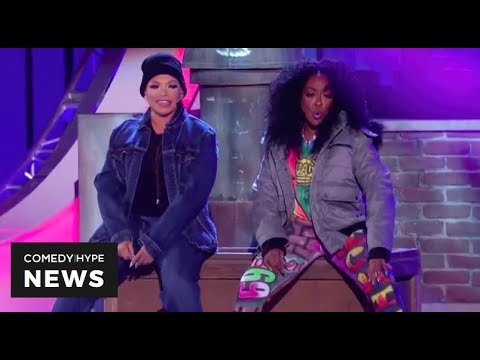Pam And Gina Reminds Us Of Biggie Audition At Soul Train Awards - CH News