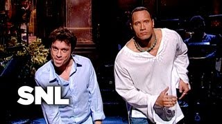 The Rock Monologue: How to Take a Punch - Saturday Night Live