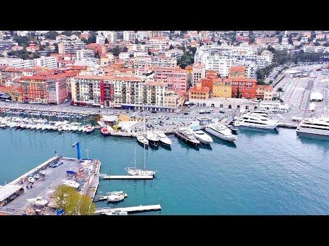 NIZA / Nice, Francia / France - City tour - Ruta y guía por la ciudad - France ville travel video