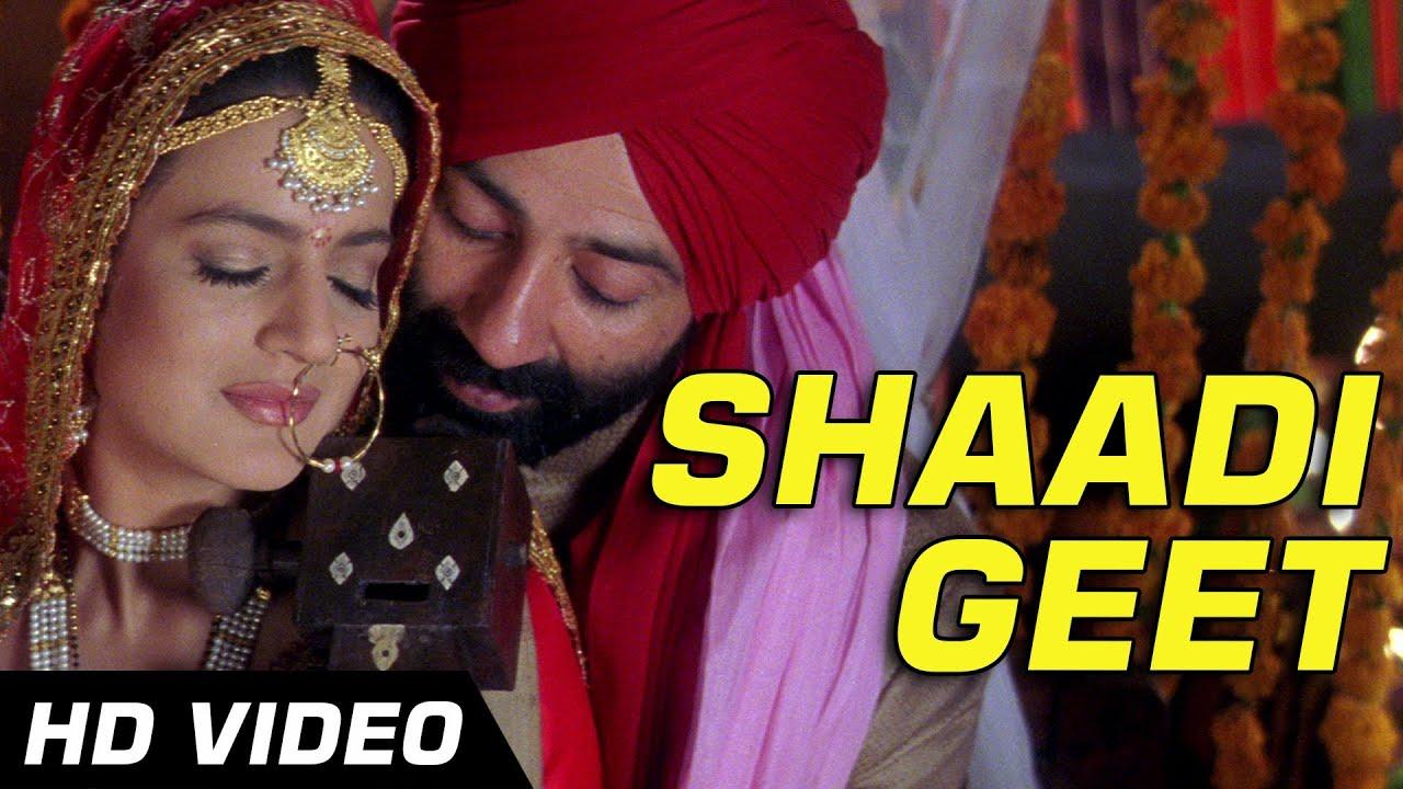 Download Gadar - Traditional Shaadi Geet - Full Song Video | Sunny Deol - Ameesha Patel - HD