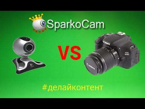 Как подключить камеру вместо веб камеры #делайконтент