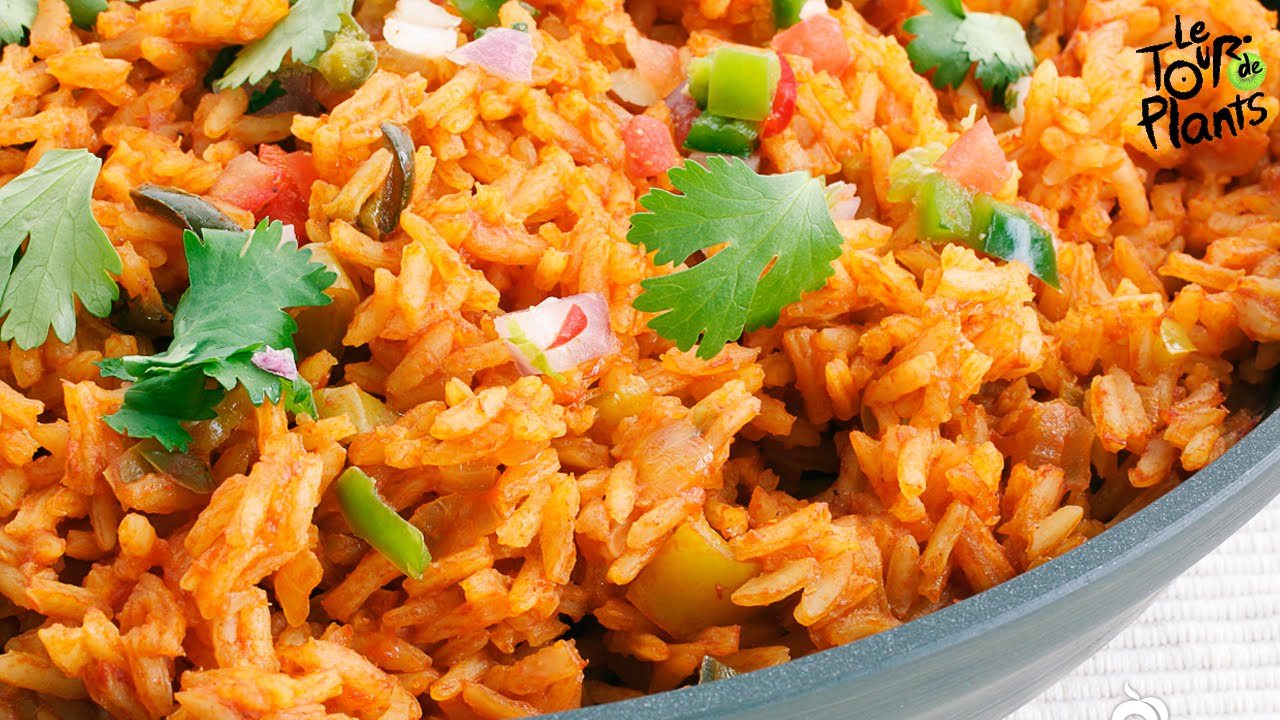 Spanish rice mexican rice using a rice cooker fat free vegan spanish rice mexican rice using a rice cooker fat free vegan oil free one minute recipes youtube forumfinder Image collections