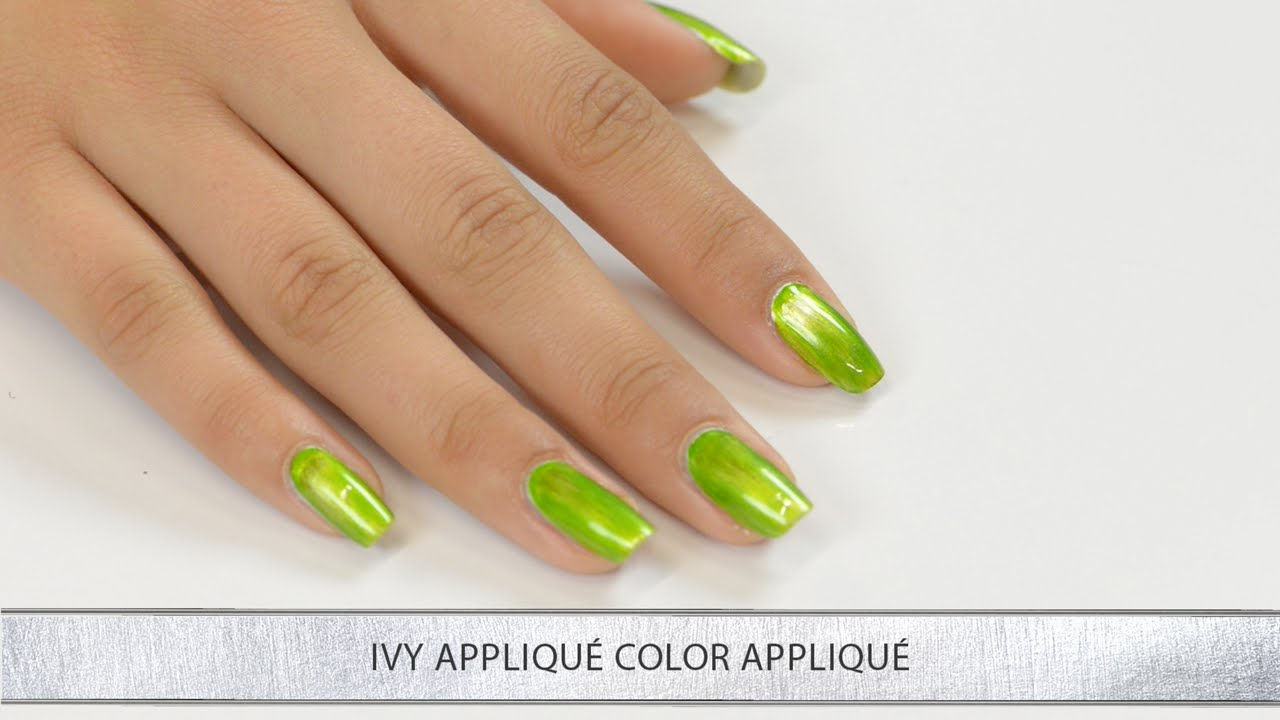 Morgan Taylor Lacquer Chrome Collection: Chrome Ivy Application ...