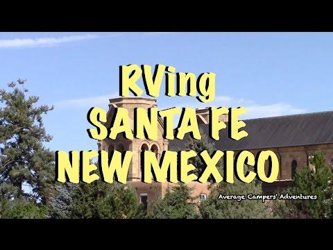 RVing Santa Fe New Mexico