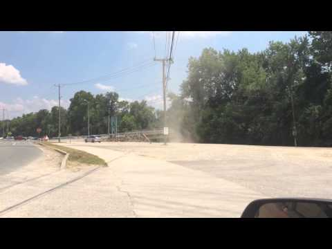 Dust devil at special metals 2