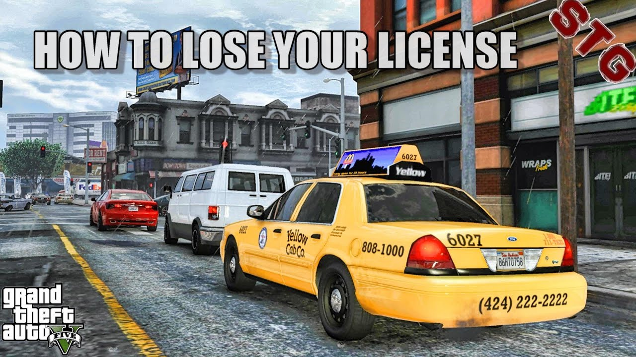 HOW TO LOSE YOUR LICENSE IN GTA 5 (GTA 5 NIKO REAL LIFE MODS )