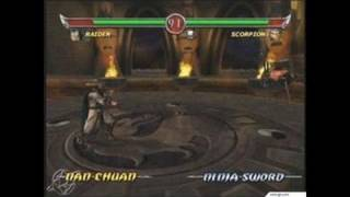 Mortal Kombat: Deadly Alliance Xbox Gameplay_2002_08_06_5