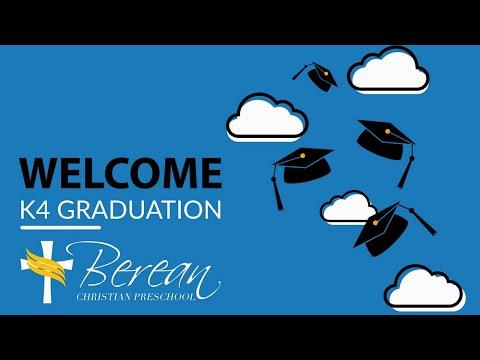 Berean Preschool Graduation May 7, 2021