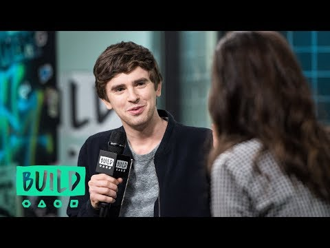 """Freddie Highmore Discusses """"The Good Doctor"""""""