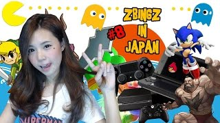 [EP.8] zbingz in tokyo - โซนเกมญี่ปุ่นบุกคาเฟ่กันดั้ม zbing z.