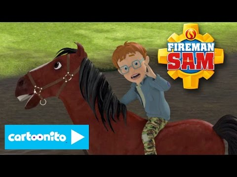 Fireman Sam | Horse Rescue | Cartoonito