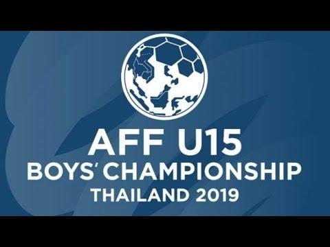 U15 ไทย พบ บรูไน ชิงแชมป์อาเซียน 2019