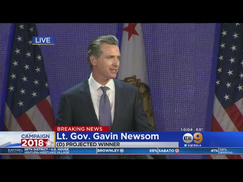 Trump Critic Gavin Newsom Elected California's Governor