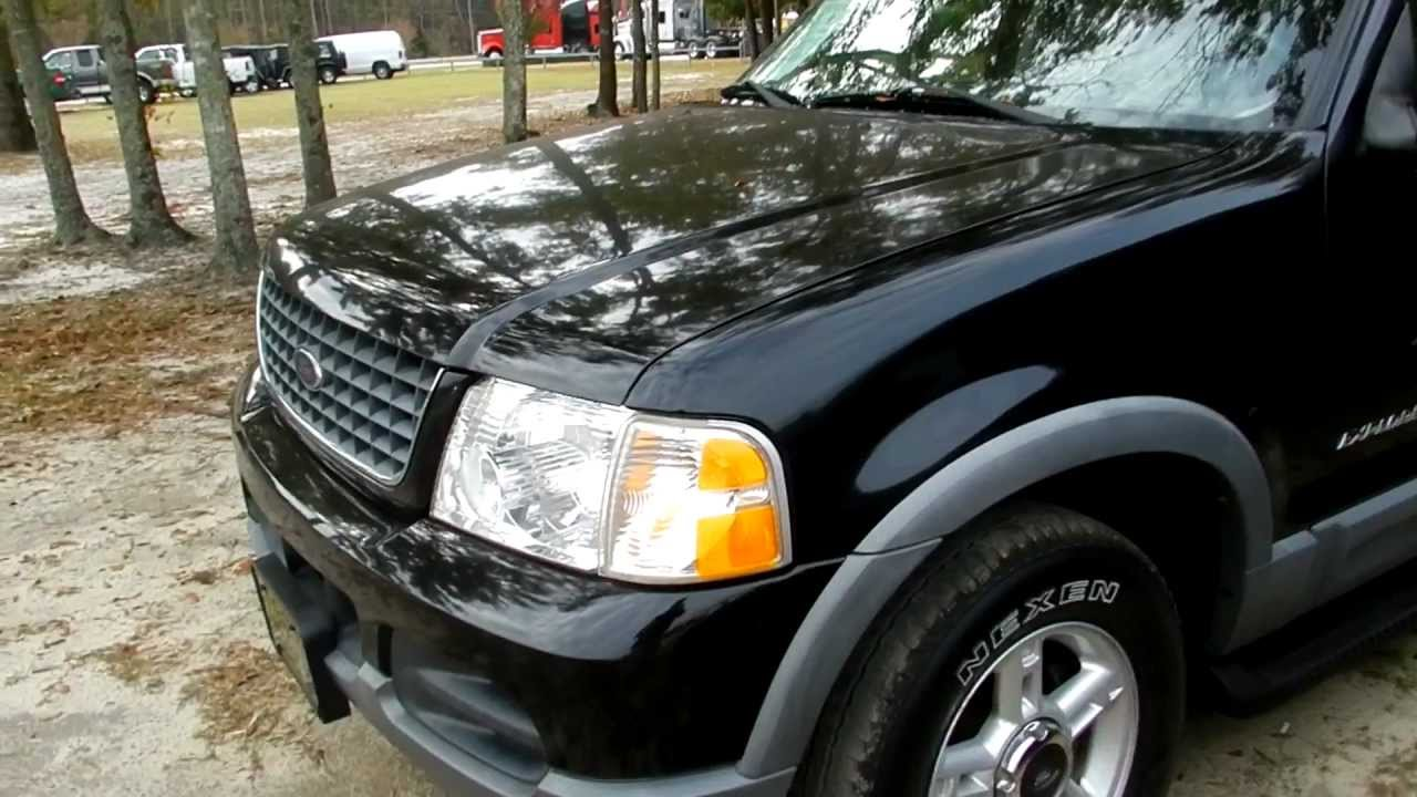 2002 Ford Explorer Xlt 4x4 Review Youtube