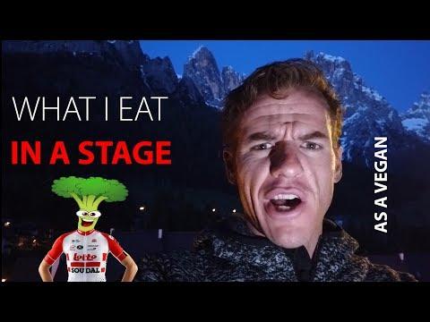What I eat in a day as a Vegan in a Giro stage.