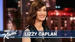 Lizzy Caplan Reveals Why You Shouldn't Spit Gum in a Urinal