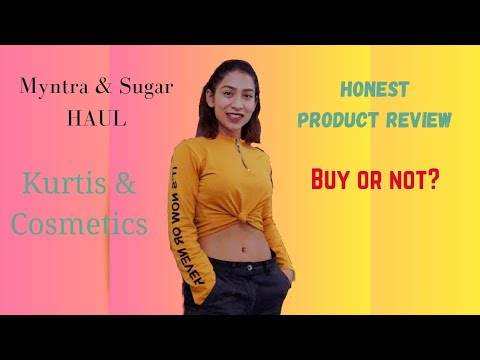 Honest Myntra & Sugar purchase review  Should you or should you not buy?