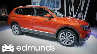 2018 Volkswagen Tiguan First Look Review | Edmunds