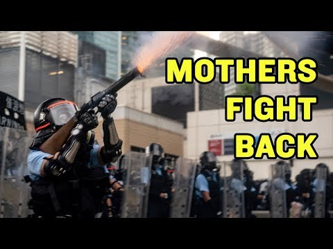 These Protesters Are Serious Mothers | Hong Kong Extradition Bill Protest | China Uncensored