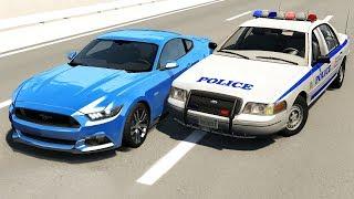 Realistic Police Chases #15 - BeamNG drive screenshot 5