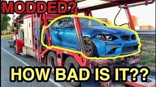 I just bought the CHEAPEST MODDED 2018 BMW M2 in North America from a Salvage Auction!