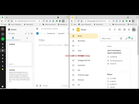 Evernote Vs Google Keep: Which One Suitable For Lawyers, Attorneys And Advocates? (2021)