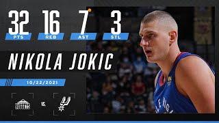 🃏 Nikola Jokic leads Denver with 32 PTS, 16 REB, 7 AST & 3 STL in win 🃏