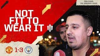 SHOULDN'T BE ANYWHERE NEAR THIS CLUB! Man Utd 1-3 Man City EFL Cup Semi-Final Fan Cam