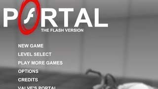 Portal: The Flash Version Walkthrough
