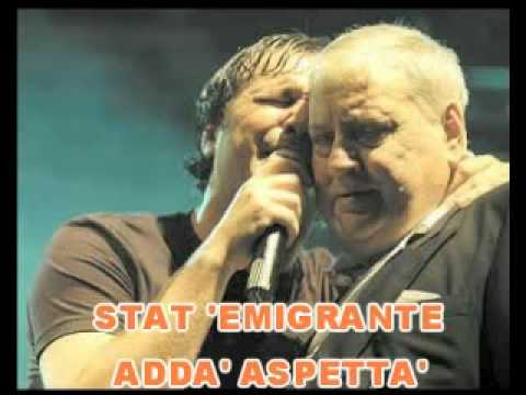 Mario & Francesco Merola Cient'anne Live (voce Merola) karaoke