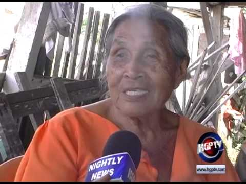 OCTOGENARIAN SURVIVES HOUSE COLLAPSE