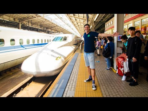SHINKANSEN to OSAKA - REAL First Impressions of Japan