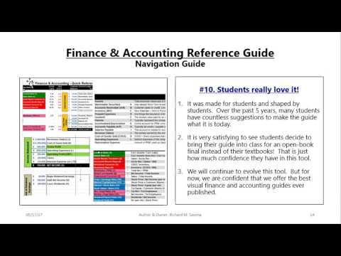 Finance & Accounting   Navigation Guide & Video May  2017 v2 0