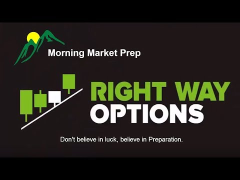 Morning Market Prep | Stock & Options Trading | 10-10-17