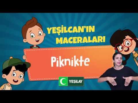 Yeşilcan'ın Maceraları - Piknikte ( İşaret Dili )