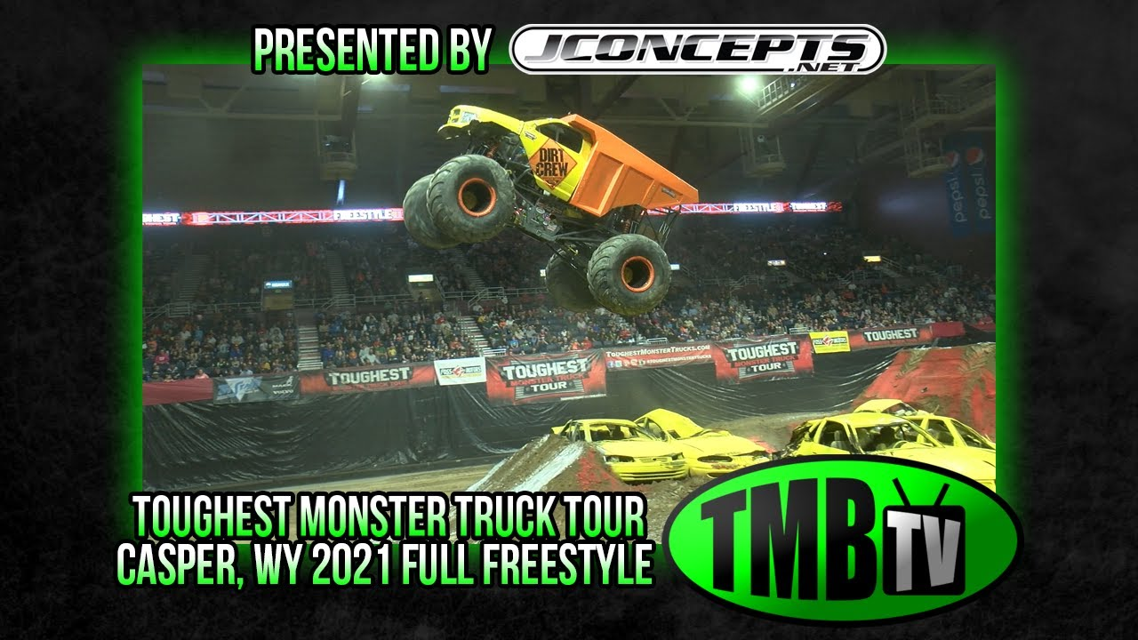 TMB TV Monster Trucks - Casper, WY 2021 FULL FREESTYLE!
