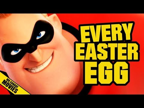 All Easter Eggs In THE INCREDIBLES 2
