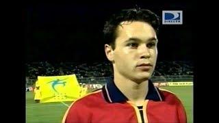 Así jugaba A. Iniesta cuando tenía 16 años (España vs Argentina U17)
