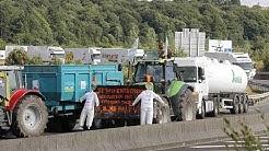 Nichts geht mehr um Lyon: französische Landwirte blockieren weiter Autobahnen