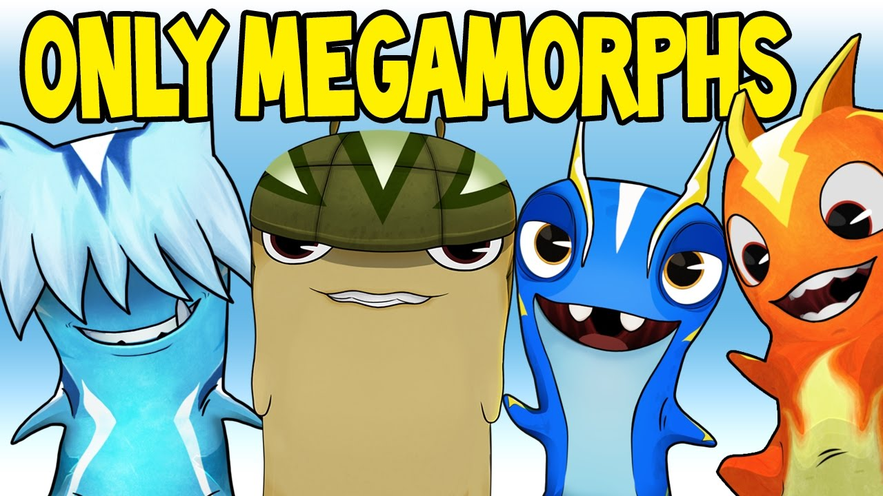 all megamorphs team with