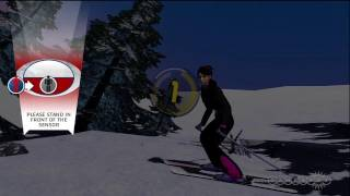 MotionSports Adrenaline Glitch and Skiing Gameplay Video (Xbox 360)