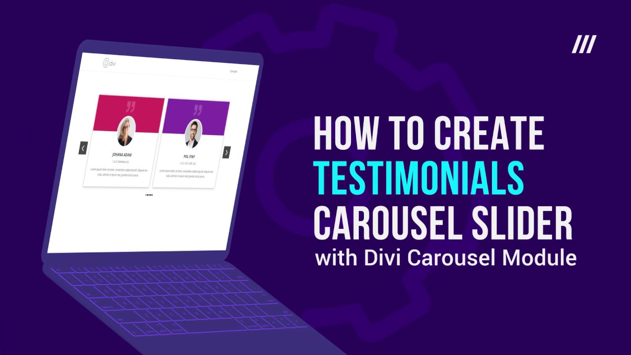 How to Create Testimonials Slider with Divi Carousel Module