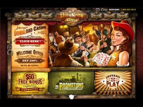 High Noon Casino - Top USA Online Casino!