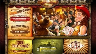 High Noon Casino - Top USA Online Casino!