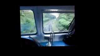 Ella Kandy journey in Sri Lanka Railways Class S12 DMU