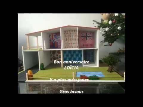 maison playmobil en bois youtube. Black Bedroom Furniture Sets. Home Design Ideas