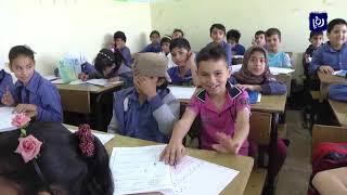 165 طالب وطالبة في الصف الثالث الأساسي يتقدمون لاختبار تقييمي في مبحثي اللغة العربية والرياضيات