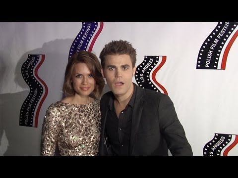 Paul Wesley and Torrey DeVitto at 13th Annual Polish Film Festival Los Angeles